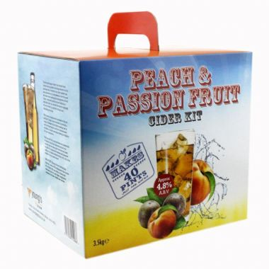 Young's Peach And Passion Fruit 40 pint / 23L Cider Kit